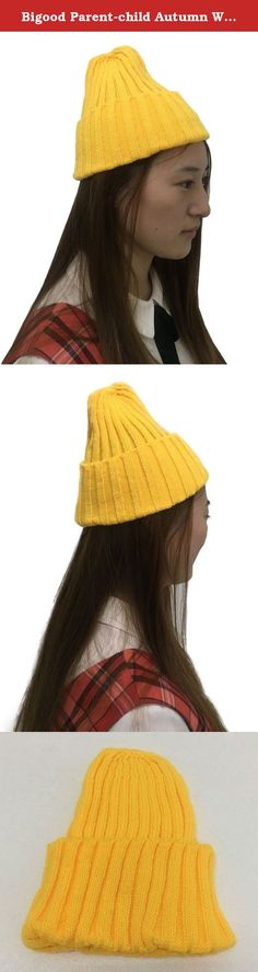 """Bigood Parent-child Autumn Winter Warm Cute Knitted Yarn Cap Beret Hat No Label. Key Features Material£ºHairs -Gender:Adult&Kids -Style:Simple -One size fits most,Outer Perimeter 38cm,Depth 26cm,suitable for Head 38-58cm baby(High Elastic) -A """"must have item"""" to keep your baby warm in cold weather -A good """"parent-child hat"""" choice -Applicable season: spring and autumn,winter -Soft, breathable material, features comfort touch -Packable for easy storage and travel -Applicable occasions…"""