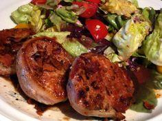 Pork Loin with Cono Sur Pinot Noir Sauce recipe.