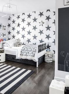 Love The Scandi Schic Monochrome Kids Bedroom Style You Re Going To Need This
