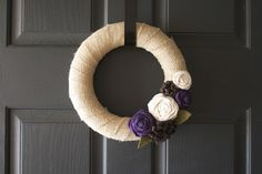 rustic spring wreath - Google Search