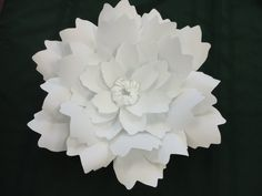 Extra Large Peony Paper Peony White Photo Prop by PoshStudios