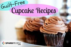 Yes, you can make cupcakes without turning on the oven. This wonderful recipe for no-bake chocolate cupcakes couldn't be easier. Healthy Cupcake Recipes, Healthy Cupcakes, Brownie Recipes, Healthy Desserts, Yummy Cupcakes, No Bake Desserts, Just Desserts, Dessert Recipes, Yummy Treats
