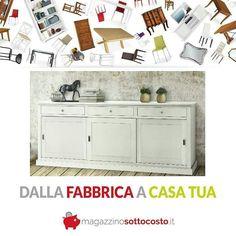 BIANCA come la purezza la semplicità e la luminosità   E soprattutto a buon mercato.. . #credenza