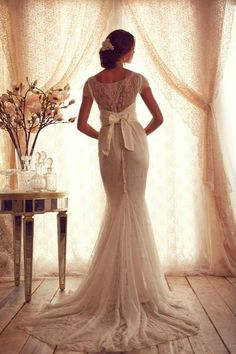 Stunning Wedding Dresses by Anna Campbell 2013.