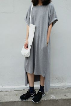 iStyle | Gray With Black Nike Shoes