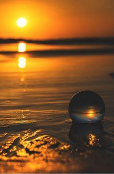 """maya47000: """" Le soleil levant cuivrait l'océan et enveloppait le village d'un halo sanglant. """" Alain Paris """" The rising sun coppered the ocean and wrapped the village of a bloody halo. """" Alain Paris"""