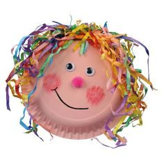 Pin by Andrea on Fasching Art Activities For Toddlers, Preschool Themes, Fun Crafts For Kids, Easy Crafts, Diy And Crafts, Arts And Crafts, Carnival Crafts, Kids Carnival, Paper Plate Crafts