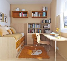 Small Bedroom Ideas For Teens | Creative Ideas for Small Bedrooms of Teens
