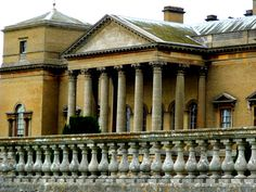 Holkham Hall .... pure Palladian - Holkham Hall, Norfolk, UK. Constructed 1734 to 1764 in the Palladian style for Thomas Coke, 1st Earl of Leicester by architect William Kent.
