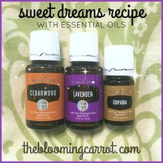 Essential Oils for Sleep - Recipe for a 10 ml Roller Bottle or a Diffuser | The Blooming Carrot #sweetdreams #essentialoils #sleep #thebloomingcarrot