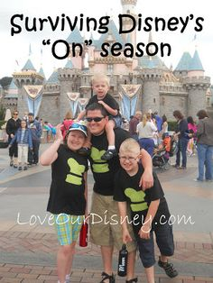 "Surviving Disney's ""On Season"". We've all heard ""go to Disney in the off season."" There is a good reason for this - hitting up the parks during a time like Spring Break may actually classify you as INSANE!"