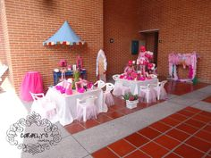 Spa para niñas - Fiesta temática para las princesas