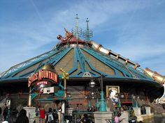 Space Mountain, the best ride at Disneyland