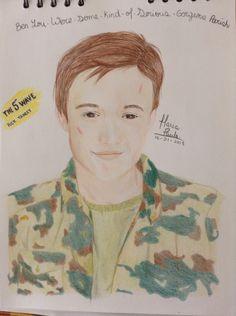 I drew Ben Parish ❤️