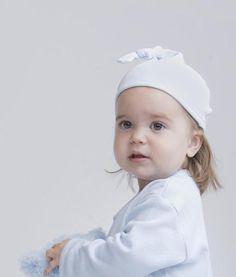 Hugo weiche Kinder Mütze Weiß  von KinderKrams auf DaWanda.com