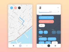 Hey guys! Redesign for local taxi service. We tried to make a user experience so…