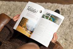 In diesem Erlebnis-Magazin finden Sie alle Mitgliederhotels der Private Selection Familie in einem oder mehreren (Rundreise-) Angebot erwähnt. Mit Genuss und Kulinarik, Kultur und Natur, Wandern, Biken, Wellnessen und Golfen. Hier lassen sich Ihre Ferien designen. by www.eine-augenweide.com Corporate Design, Magazin Design, Design Studio, Grafik Design, The Selection, Polaroid Film, Packaging Design, Round Trip, Hiking