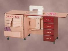 Our website's main sewing furniture page