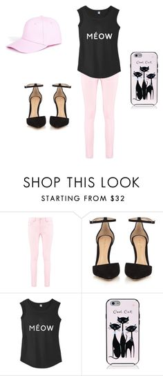"""""""pnkc"""" by mermaid7sienna on Polyvore featuring Boohoo, Gianvito Rossi and Kate Spade"""