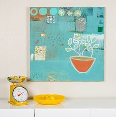 Clay Paint painting by Addie Rementer.    www.AddieLynn.com
