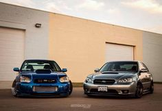 Legacy gt and sti
