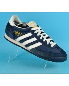 san francisco 4f424 7c48f Adidas Dragon Suede Leather Mens Shoes Trainers Sneakers Navy Counter  Genuine  69.60