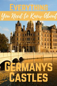 There are hundreds of castles in Germany but you have to start somewhere. We put together a list of some of the top castles, where to find them and how to get there. Europe Destinations, Europe Travel Tips, Travel Guides, Travel Articles, European Travel, Visit Germany, Germany Travel, Berlin, Germany Castles