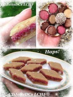 Hjemmelavet sukkerfri marcipan og julekonfekt er ikke helt lowcarb, men julebagning og fremstilling af julegodter hører juleforberedelserne til - også selv om du spiser LCHF. Men det må betragtes som liberalt og ikke striks LCHF. Se mere på CDJetteDCsLCHF