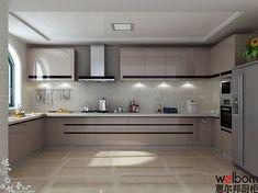 elegant and luxury kitchen design ideas 28 ~ myhomeku. Luxury Kitchen Design, Kitchen Room Design, Luxury Kitchens, Kitchen Layout, Home Decor Kitchen, Interior Design Kitchen, Kitchen Modular, Modern Kitchen Cabinets, Kitchen Taps