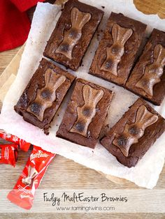 MaltEaster-Brownies a perfect Easter Chocolate treat. Baking Recipes, Cake Recipes, Dessert Recipes, Desserts, Quick Dessert, Brownie Recipes, Easter Treats, Easter Food, Breakfast Cake