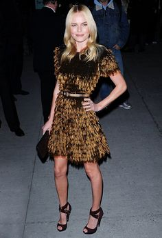 Only she could pull this off. 35 Kate Bosworth Outfits That Justify Our Girl Crush via @WhoWhatWear