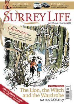 Surrey + Narnia = surely one clear winner!  Win a £50 M&S voucher or a free year's subscription by voting @ www.subscriptionsave.co.uk/frontcover.aspx - and don't be swayed by the sheep!!!