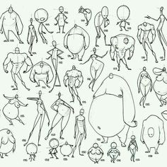 #bodies #different #shapes
