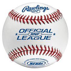 Rawlings Rnf Nfhs Official League Leather Baseballs...