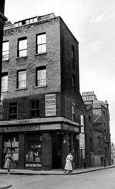 A Goldstein, Wilkes Street, Spitalfields, Stepney, Greater London 1956 - Photographer J. Victorian London, Vintage London, Old London, London History, British History, Local History, Uk Photos, London Photos, East End London