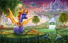 69 Spyro The Dragon HD Wallpapers | Backgrounds - Wallpaper Abyss