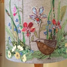 Crafts Needlework - TOOGOO(R)Crafts Needlework Embroidery Paintings Fashion Pastoral Eternal Love Ribbon Embroidery Color Series New Paintings Flower - Embroidery Design Guide Embroidery Designs, Applique Designs, Embroidery Art, Embroidery Applique, Embroidery Stitches, Cross Stitches, Freehand Machine Embroidery, Free Motion Embroidery, Free Machine Embroidery