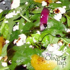 Wendy's Baby Spinach Salad with Dark Chocolate Balsamic Vinegar |