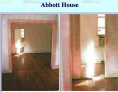 """These ghost photos were sent by Wolf Singleton of wolf_singleton@yahoo.com. Wolf said, """"This was taken in the Abbott house, St. Augustine, FL. Dr. Dave's Notes: Notice the ectoplasmic white anomaly. The second photo is an enlargement of the first."""