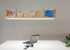 magazine rack + light - extruding store - utrecht - zakenmaker + toon welling + gsbrt