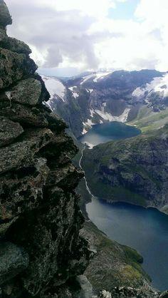 Hornindalsrokken 1529 moh.