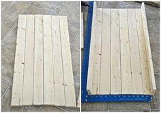 DIY Rustic Wood Tray