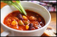寒い日のチリコンカンスープ - 【E・レシピ】料理のプロが作る簡単レシピ