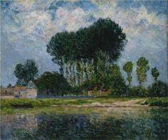 The River - Maxime Maufra