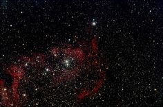 Soul Nebula Telescope: ZS110 Camera: QHY8L Guide Camera: QHY5L-ii Mount: CGEM 6x10min subs stacked