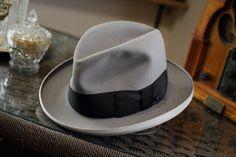 1940s Homburg Style Fedora Hat Mens Boys by WilsonEmporium on Etsy