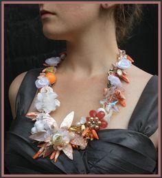 beautiful shell necklace