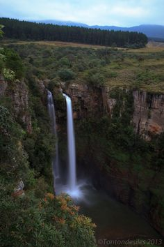 Mac Mac Falls from Sabie_ South Africa