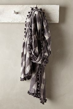 check pom scarf #anthrofave