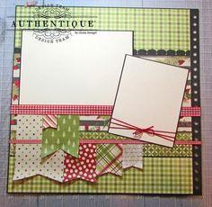 Christmas Layered Layouts - Wide-eyed Scrapbook Kits Stampin Up - Christmas Scrapbook Layouts, Birthday Scrapbook, Disney Scrapbook, Scrapbook Cards, Scrapbook Quotes, Baby Scrapbook, Scrapbook Paper Crafts, Scrapbook Storage, Scrapbook Supplies